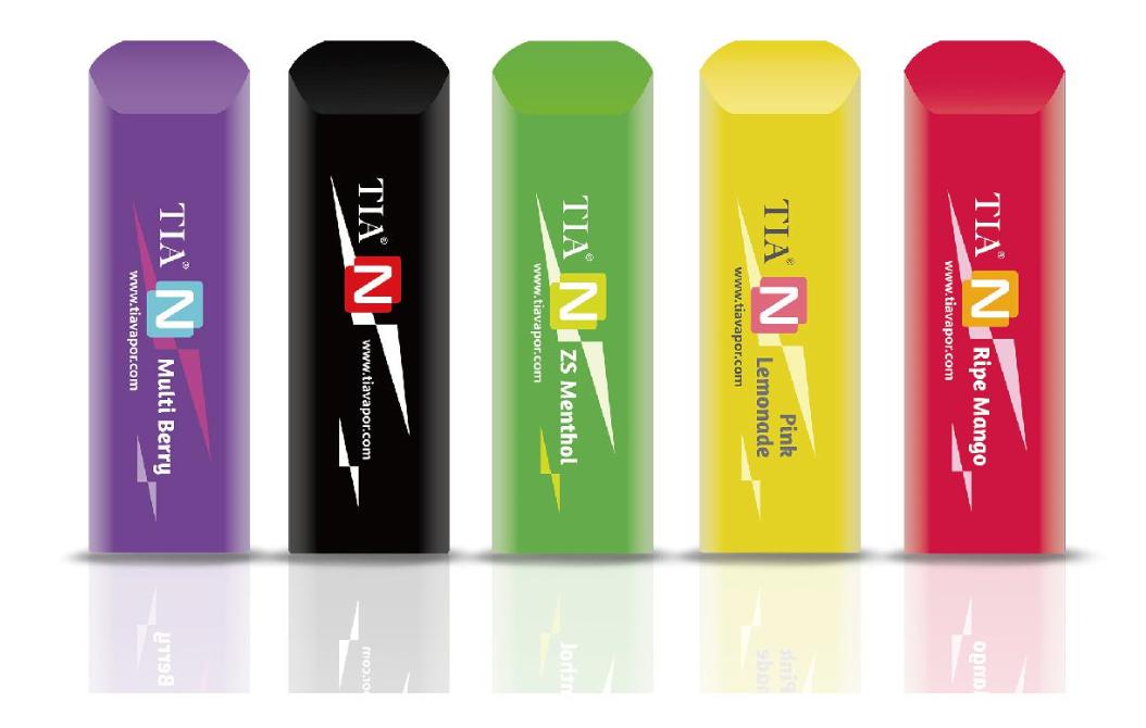 TIA N disposable vape Nic Salts CBD Oil